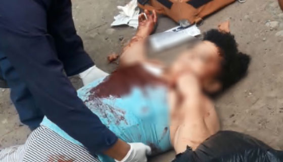 Ericka María Gutiérrez Treminio, de 43 años, fue asesinada frente a su casa. LA PRENSA/Cortesía/Canal 87