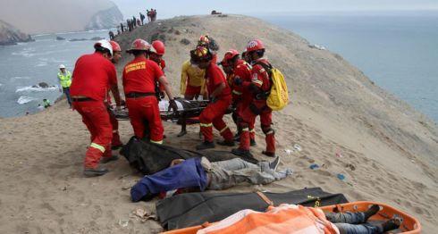 Perú, accidente en Perú
