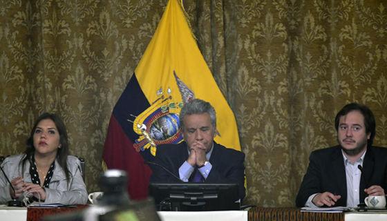 Ecuador, Lenín Moreno