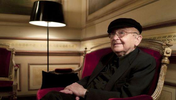 El novelista israelí Aharon Appelfeld,un sobreviviente del Holocausto que se convirtió en uno de los principales escritores contemporáneos en lengua hebrea.LA PRENSA/AFP/Philippe Merle/Archivo, 2010.