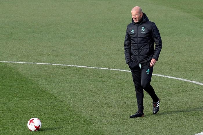 Zinedine Zidane Cumple Dos Anos Como Tecnico Del Real Madrid