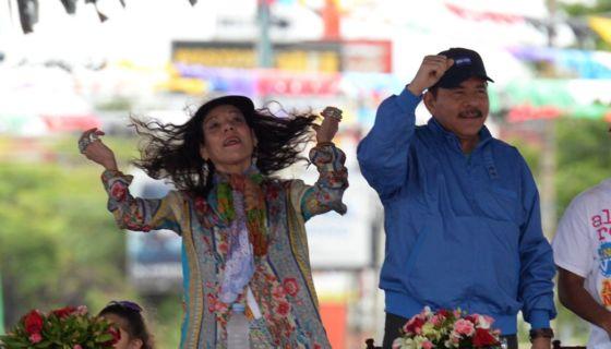 Rosario Murillo, Daniel Ortega, FSLN