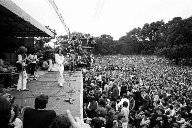 El concierto de The Rolling Stone de 1969 fue uno de los que terminó en desastre.