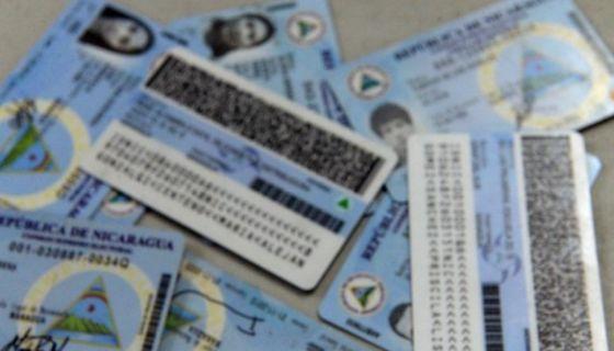 cédulas de identidad, Nicaragua, CSE