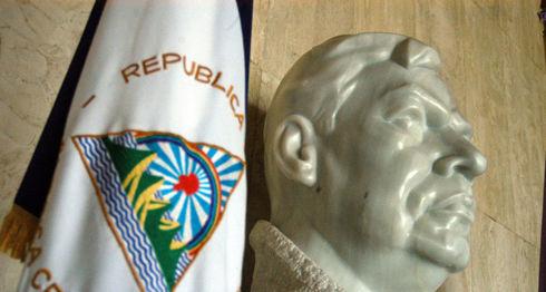 Busto de Rubén Darío, de la escultora Edith Dorthe Grøn. LA PRENSA/Archivo