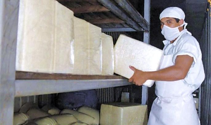 En los últimos años El Salvador se ha consolidado como el principal mercado para el queso nicaragüense. LA PRENSA /ARCHIVO