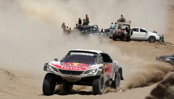 Sébastien Loeb, Rally Dakar