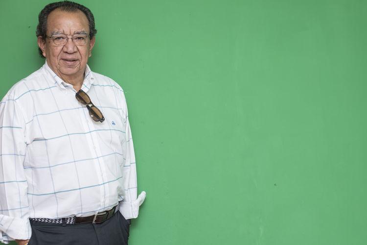 Edmundo Jarquin, politico nicaragüense confiesa que es buen bailarín y buen cocinero. Navarrete/ LA PRENSA.