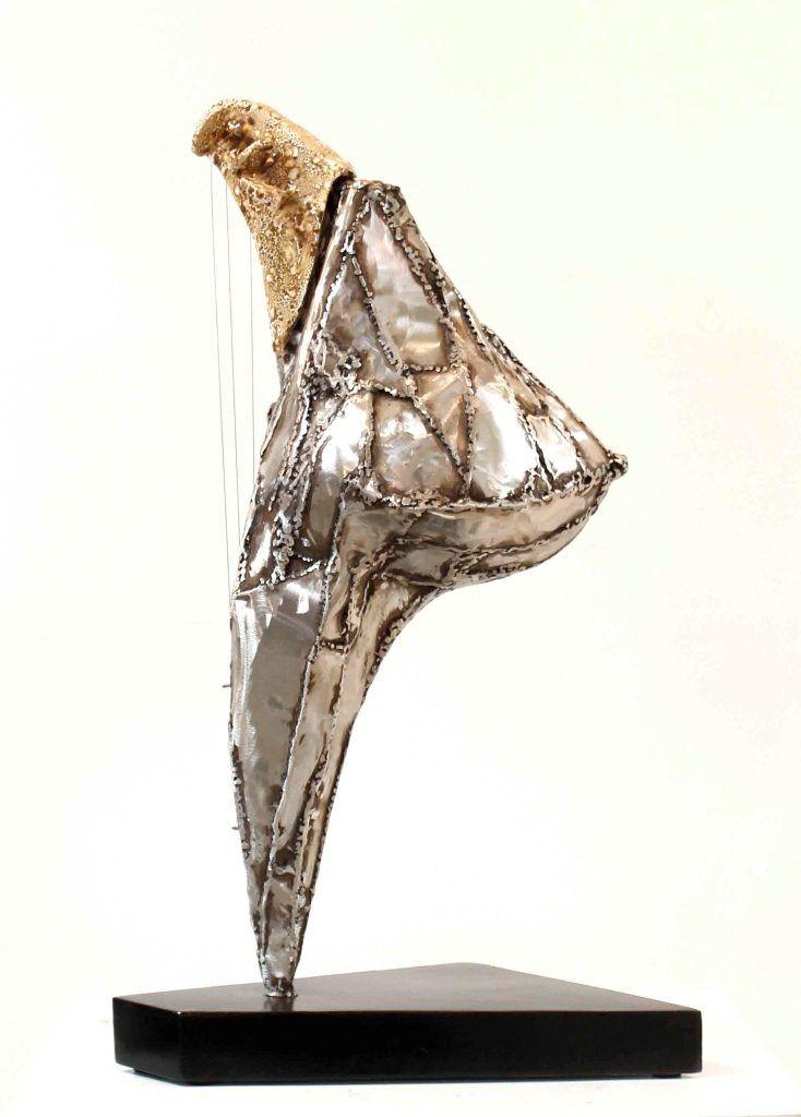 La escultura Allegra, de la serie Longina, de Armando Pérez Alemán.LA PRENSA/EFE/Cortesía Armando Pérez Alemán