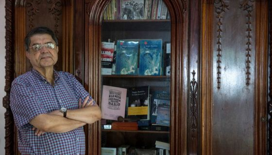En su controversial libro Sergio Ramírez (Premio Cervantes 2017), desnuda y condena el machismo y la impunidad. LA PRENSA/Jader Flores