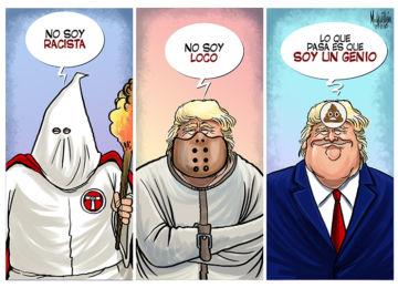 Caricatura, Donald Trump