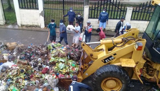 Bilwi, basura en las calles de Bilwi,