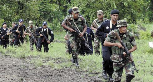 Ejército de Nicaragua, Cruz de Río Grande