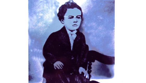 Rubén Darío en su niñez. LA PRENSA/Reproducción/Arnulfo Agüero/Archivo