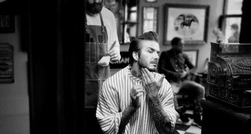 David Beckham, hombres, cosméticos