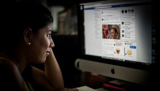 La víctima de estafa fue contactada a través de Facebook. LA PRENSA/ ARCHIVO
