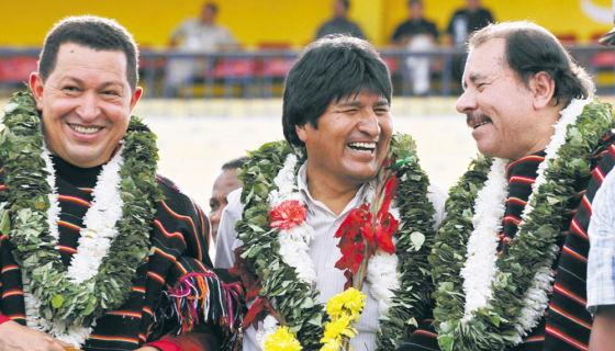 Evo Morales, Bolivia