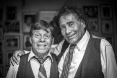 Filosofito y Mauricio, fonomímicos, comediantes