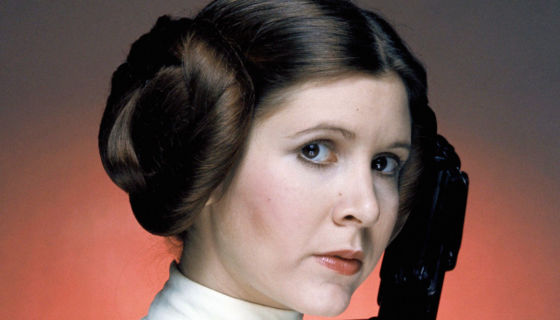 actores y actrices, Princesa Leia, Carrie Fisher