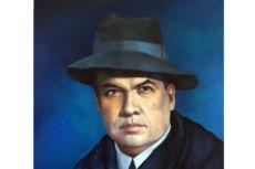 Retrato de Rubén Darío, realizado por Sergio Velásquez. LA PRENSA/Arnulfo Agüero