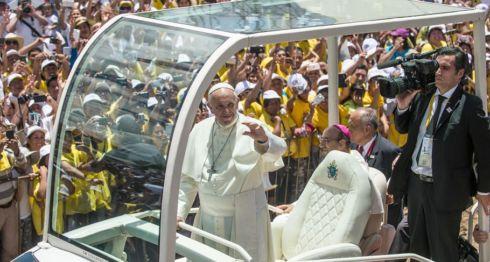 papa Francisco, Perú
