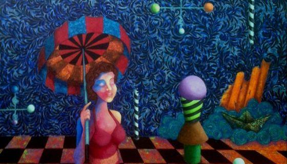 Respiro en el tiempo, obra de Alejandra Duque-Estrada. LA PRENSA/Cortesía