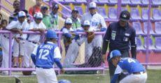 """Managua """"A"""" superó a León en el partido de semifinal entre estos equipos del Campeonato Nacional de Beisbol Infantil A. LA PRENSA/WILMER LÓPEZ"""