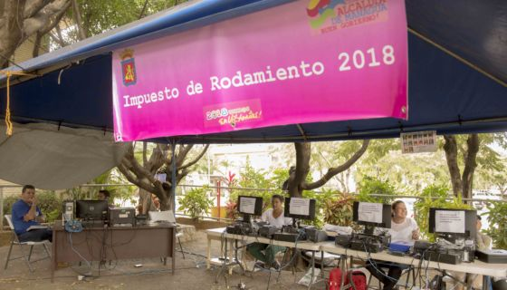 Sticker de rodamiento, Alcaldía de Managua