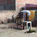 Una mujer busca un lugar donde vivir con sus cuatro hijos en San Jorge, Rivas