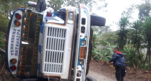 Terrabona, Matagalpa, accidente