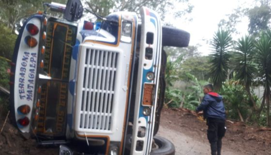 Terrabona, Matagalpa, accidente