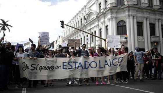 Costa Rica, Matrimonio homosexual, DEBATE ELECTORAL