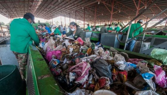 basura, planta de desechos, desechos sólidos, Managua