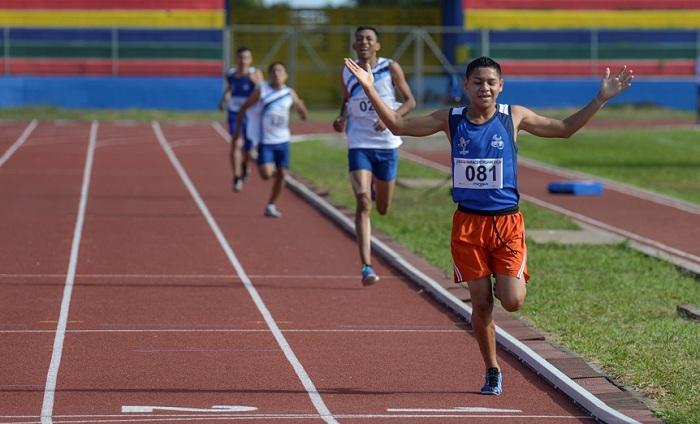 Juan Urbina sumó otra medalla dorada para el atletismo nicaragüense en los Juegos Paracentroamericanos Managua 2018. LA PRENSA/WILMER LÓPEZ