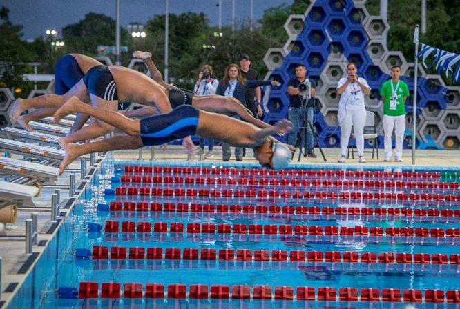 Resultado de imagen de nuevas instalaciones deportivas natacion en nicaragua