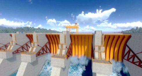 Maqueta del proyecto hidroeléctrico Tumarín. LA PRENSA/ CAPTURA