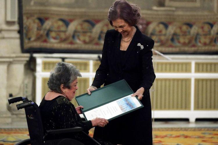 Claribel Alegría, poeta, reina sofía, premio reina sofia