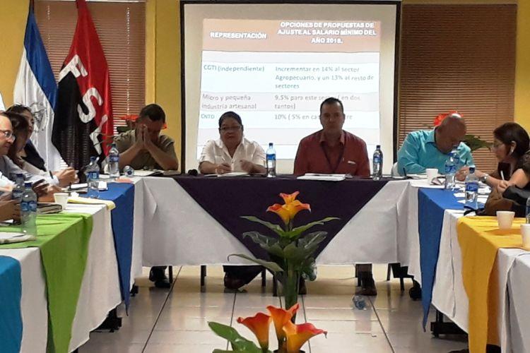 salario mínimo, COSEP, Nicaragua, ajuste al salario mínimo