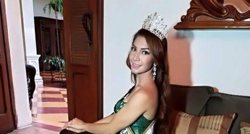 """Angélica María García Acosta, de 20 años, fue """"Miss Comunidad León"""" y """"Chica Ciencias Médicas 2017"""" en la Unan-León. LA PRENSA/ CORTESÍA"""