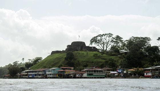 Uno de los atractivos de Río San Juan de Nicaragua es la fortaleza de la Inmaculada Concepción de María. Allí fue donde Rafela Herrera hizo su gesta histórica. LA PRENSA/ JADER FLORES