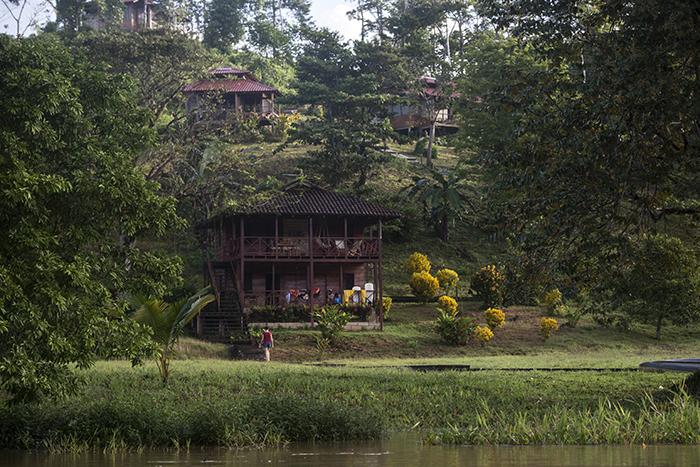 Si es de los turistas que les gusta lugares tranquilos y que tengan mucha conexión con la naturaleza, el hotel Guacimo Lodge puede ser una opción. Está ubicado a orillas del Río San Juan. LA PRENSA/ JADER FLORES