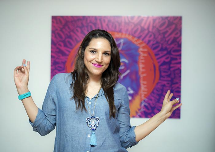 Elaine Miranda es una de las pioneras en hablar sobre finanzas personales con su blog Plata con Plática. LA PRENSA/ ÓSCAR NAVARRETE