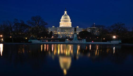 El Capitolio de Washington DC, símbolo del poder político de Estados Unidos. LA PRENSA / Thinkstock.