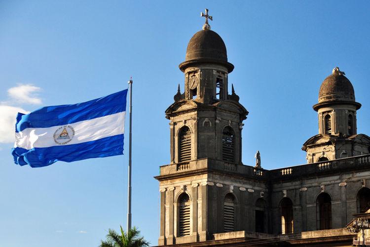 Resultado de imagen para bandera de nicaragua