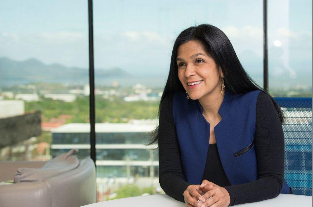 Maria Nelly Rivas, la nueva presidenta de Amcham. LA PRENSA/ URIEL MOLINA