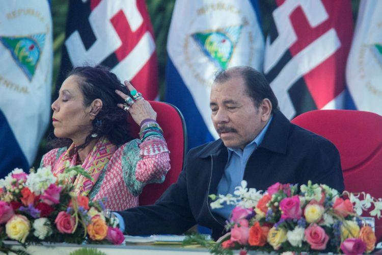 El matrimonio de Rosario Murillo y Daniel Ortega es también la pareja presidencial de Nicaragua. LA PRENSA
