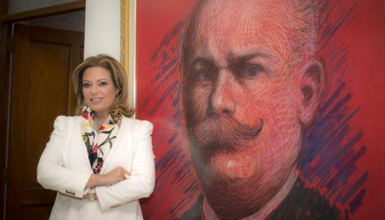 María Fernanda Flores de Alemán. LA PRENSA / Óscar Navarrete.