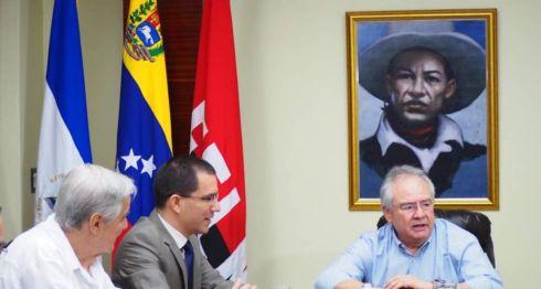 Canciller Jorge Arreaza, Venezuela, aliados, Nicaragua, Estados Unidos