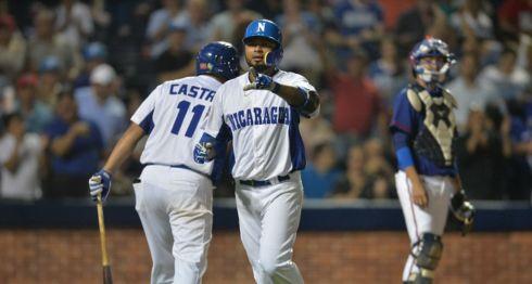 El nicaragüense Elmer Reyes jugará por primera vez en la Liga Mexicana de Beisbol, con los Olmecas. LA PRENSA/JADER FLORES