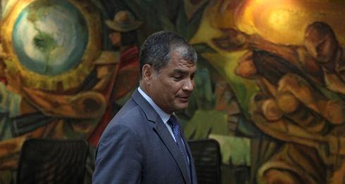 Rafael Correa, Ecuador